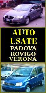 COMMERCIO AUTO USATE, COMPRO VENDO AUTO USATE o SINISTRATE o FUSE IN  VENETO compro e VENDO AUTO USATE a Padova e Rovigo