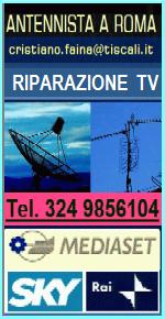 ANTENNISTA RIPARAZIONE TV A ROMA - PARABOLE E ANTENNE TELEVISORI di tutte le marche