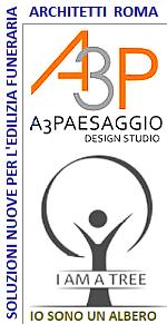 www.ilmiositoweb.it/a3paesaggio  Lo studio di architettura A3P di Roma progetta parchi alberati per chi avendo cremato i propri cari, vuole ricordarli in un bosco sacro, un parco memoriale.