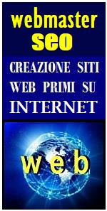WEBMASTER SEO PRIMO SU INTERNET IN ITALIA - Come creare siti web al primo posto su google e internet