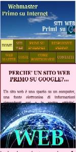 PRIMI SU GOOGLE PRIMI SU INTERNET x SITI WEB RESPONSIVE