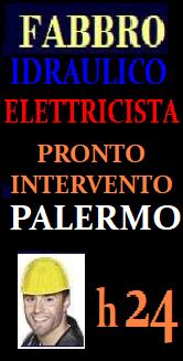 SOS PRONTO INTERVENTO A PALERMO - FABBRO IDRAULICO ELETTRICISTA URGENTE RIPARAZIONI APERTURA PORTE ECC...