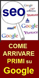 POSIZIONAMENTO SEO WEBMASTER come arrivare primi su GOOGLE - Siti web in prima pagina