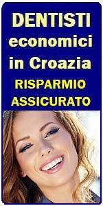 CURE DENTALI ECONOMICHE IN CROAZIA - STUDIO DENTISTICO CROAZIA a RIJEKA FIUME, IMPIANTI DENTALI in CROAZIA, DENTISTI ECONOMICI in CROAZIA