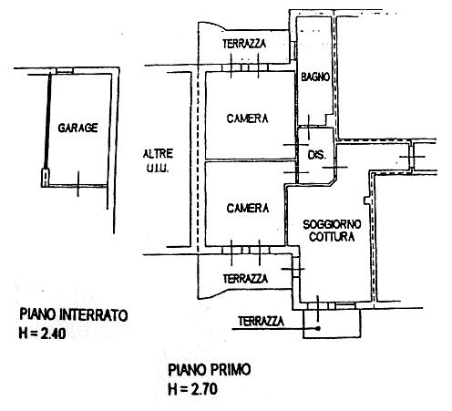 Compro vendo affitto annunci economici gratis cerco for Un garage per auto con appartamento
